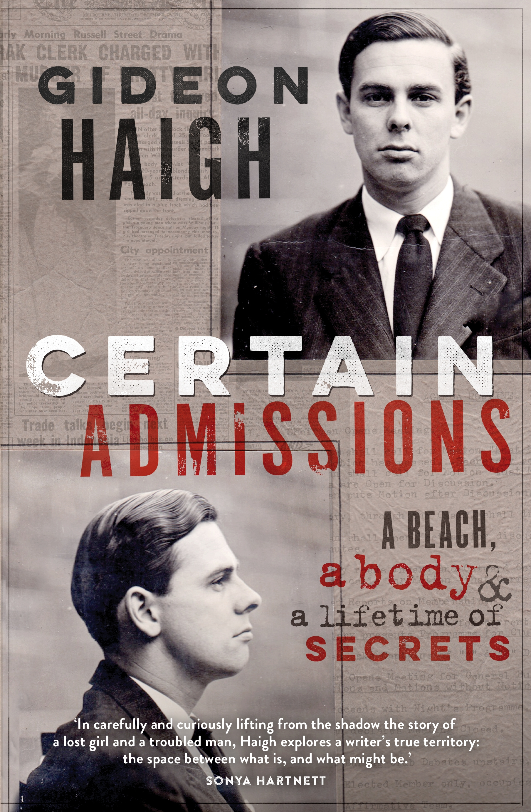 Certain Admissions: A Beach, a Body and a Lifetime of Secrets (eBook)