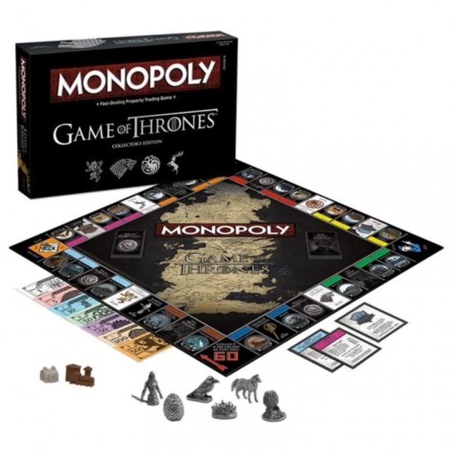 Game Of Thrones Monopoly Board Game (Collector's Edition) by MOVES W, ISBN: 5036905024389
