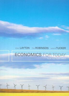 Bundle:Economics for Today : 4th Asia Pacific Edition with Student Resource Access 12 Months + Global Economic Watch GEC Resource Center Printed Access Card + Aplia Notification Card