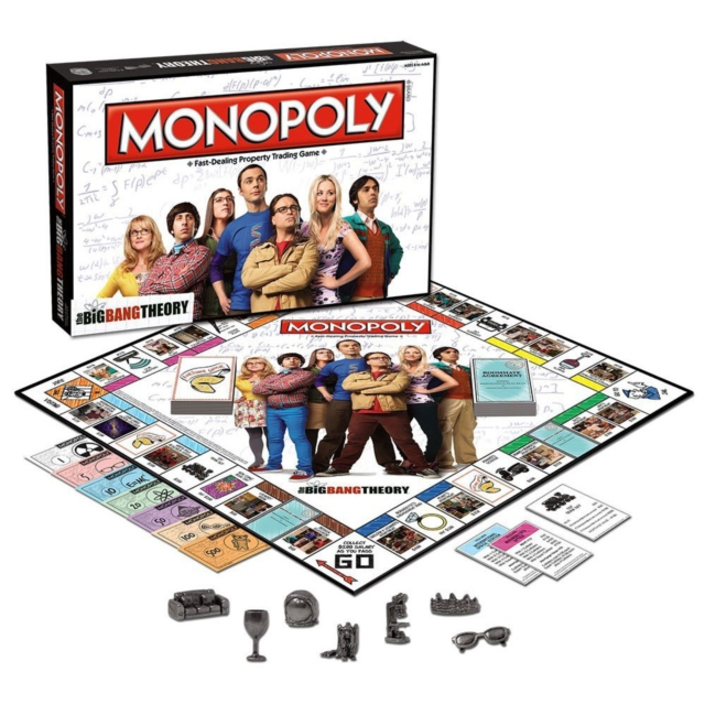 The Big Bang Theory Monopoly by Monopoly, ISBN: 5036905024037