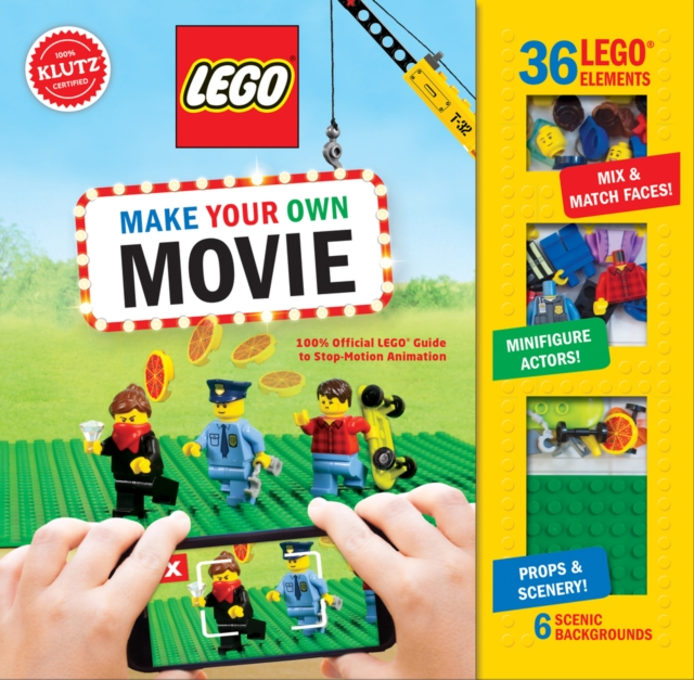 Make Your Own LEGO Movie (Klutz) by Pat Murphy, ISBN: 9781338137200