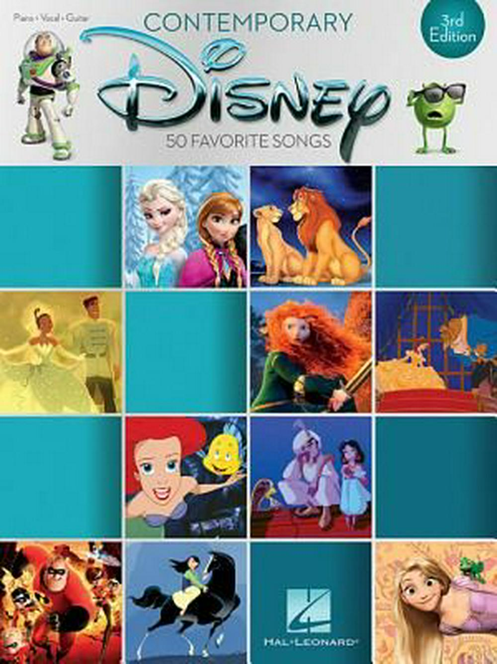 Contemporary Disney: 50 Favorite Songs by Hal Leonard Corp, ISBN: 9781495074196