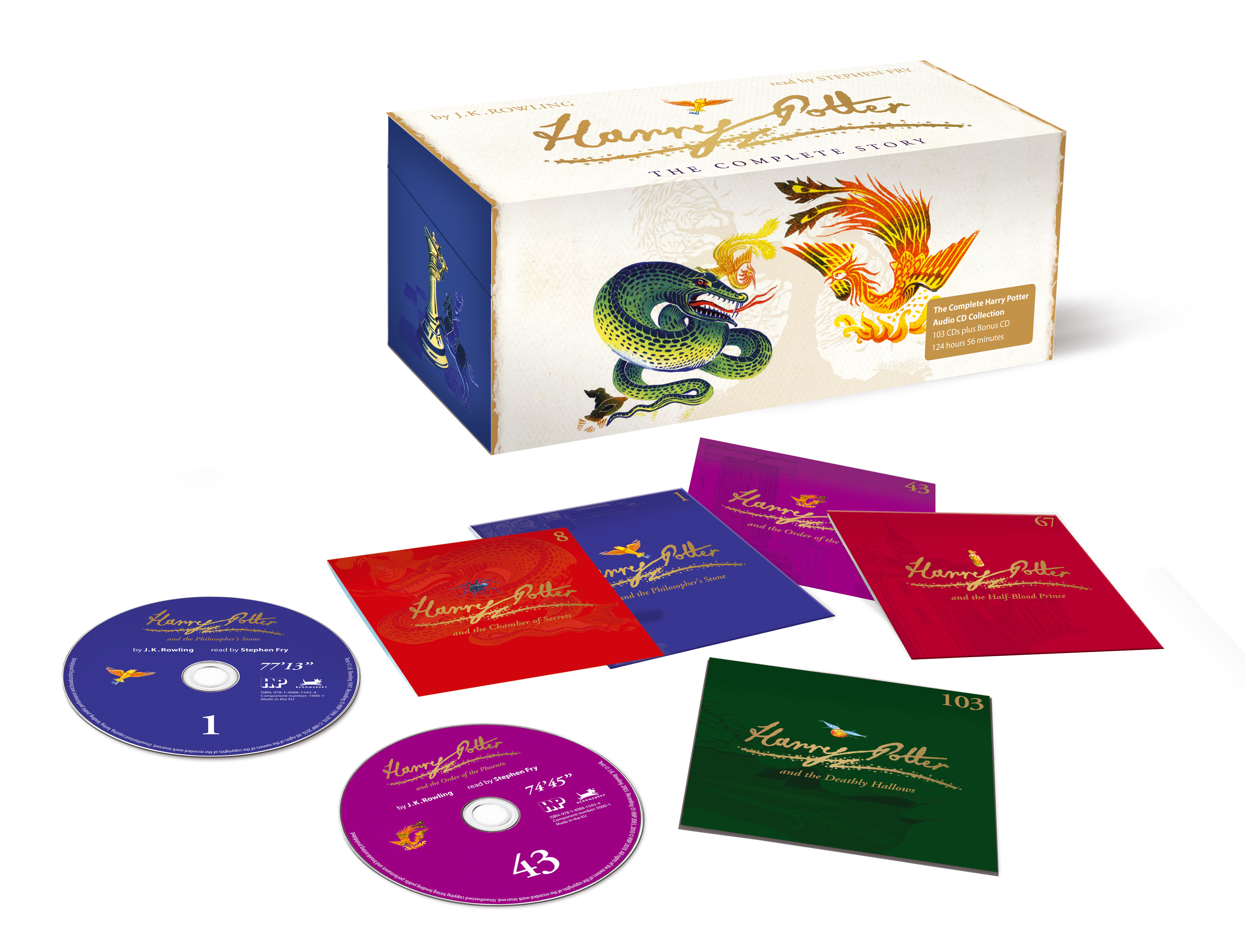 Harry Potter signature edition audio boxed set