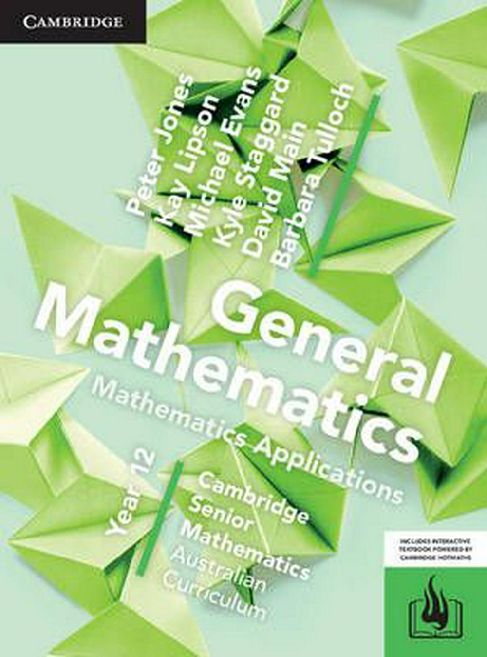CSM AC General Mathematics Year 12 Print Bundle (Textbook and Hotmaths)