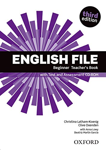 English File 3e Beginner Teacher Book with Test Assessment CDEnglish Files
