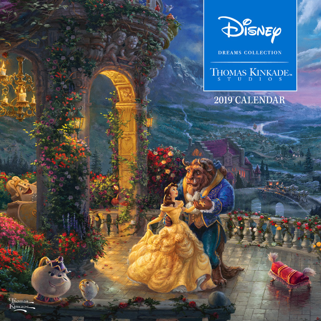 Thomas Kinkade: The Disney Dreams Collection 2019 Square Wall Calendar by Thomas Kinkade, ISBN: 9781449492595