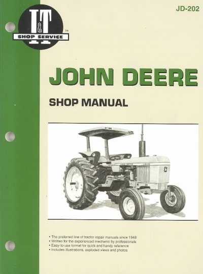 John Deere Shop Manual: Model 2040/Models 2510, 2520/Models 2240, 2440, 2630, 2640/Model 2840/Models 4040, 4240, 4440, 4640, 4840 by Intertec, ISBN: 9780872883666