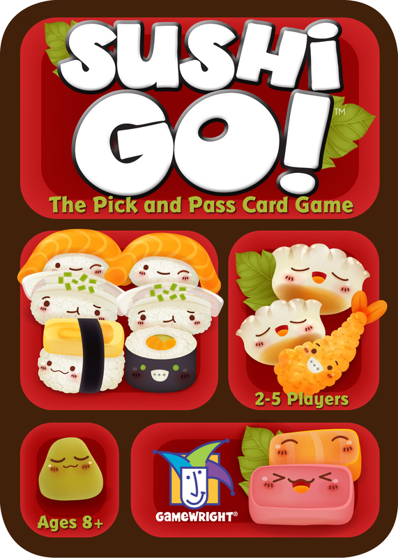 Sushi Go! - The Pick and Pass Card Game by Gamewright, ISBN: 0759751002497