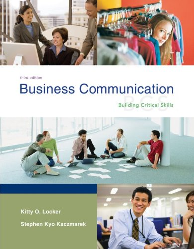 Business Communication: Building Critical Skills with BComm GradeMax