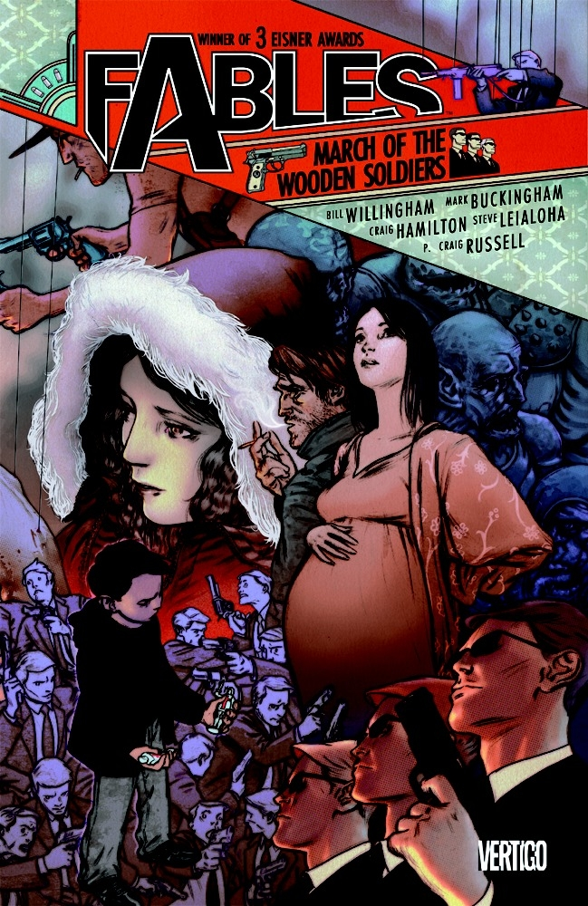 Fables: March Of The Wooden Soldiers - Vol 04