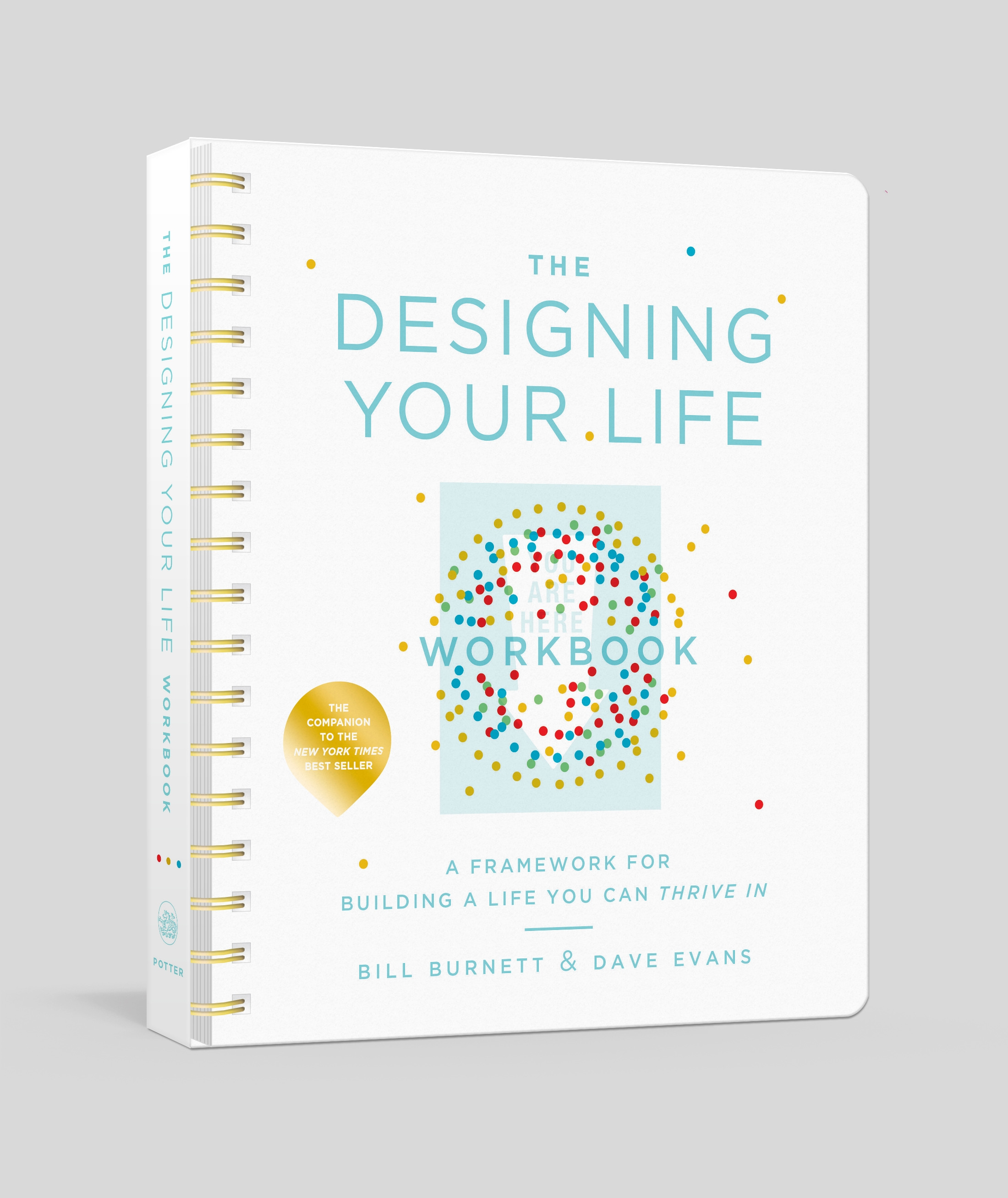 The Designing Your Life Workbook: A Framework for Building a Life You Can Thrive in by Bill Burnett, ISBN: 9781524761813