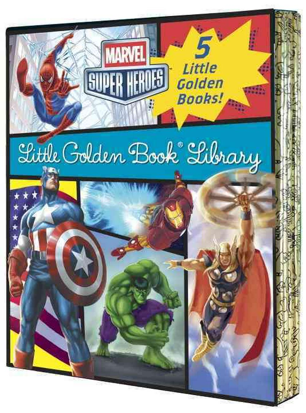 Marvel Little Golden Book Library (Marvel Super Heroes) by Various, ISBN: 9780449817353