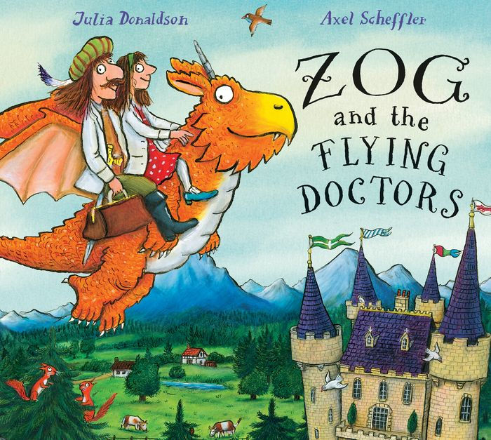 Zog and the Flying Doctors by Julia Donaldson, ISBN: 9781338134179