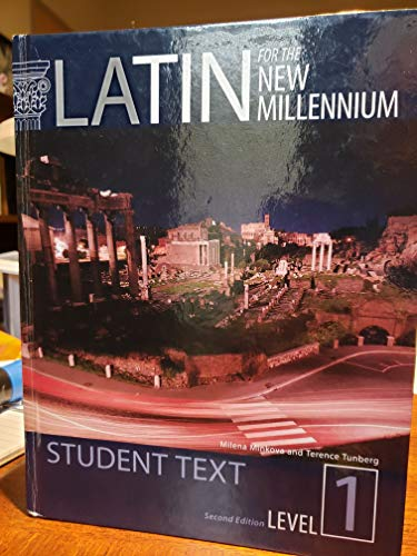 Latin for the New Millennium: Student Text, Level 1