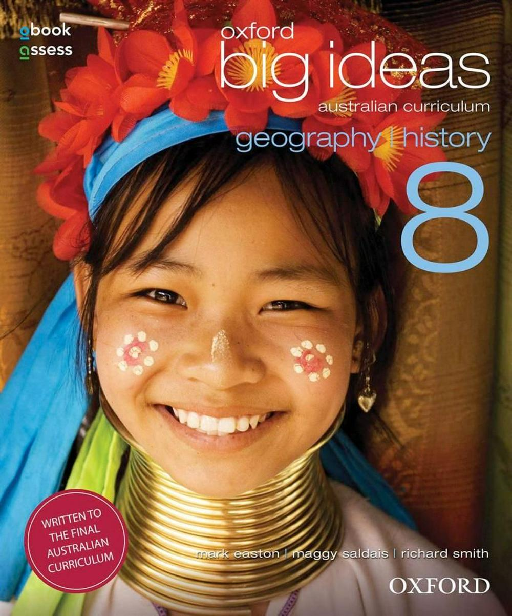 Oxford Big Ideas Geography/History 8 AC Student Book + obook/assess by Mark Easton, ISBN: 9780195590203