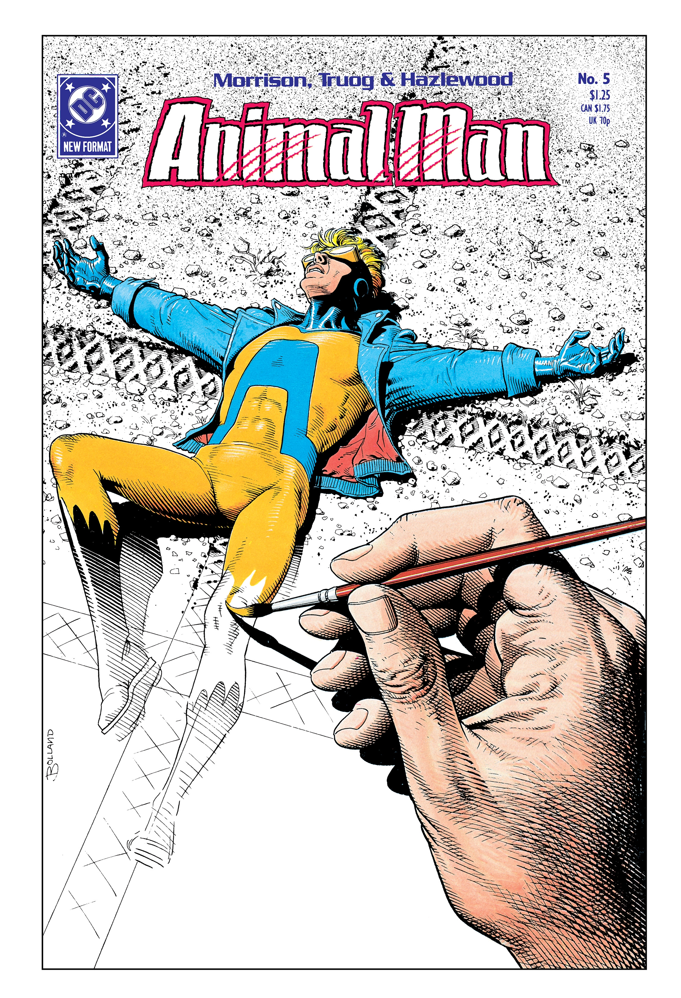 Animal Man by Grant Morrison Book One 30th Anniversary Deluxe Edition by Grant Morrison, ISBN: 9781401285470