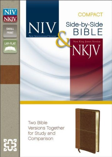 NIV and NKJV Side-by-side Bible, Compact by Zondervan Publishing, ISBN: 9780310411307
