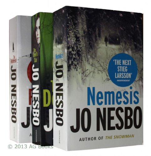 Jo Nesbo, Harry Hole Books 3, 4 and 5 Collection (Redbreast, Nemesis, The Devils Star) by Jo Nesbo, ISBN: 9781780487724