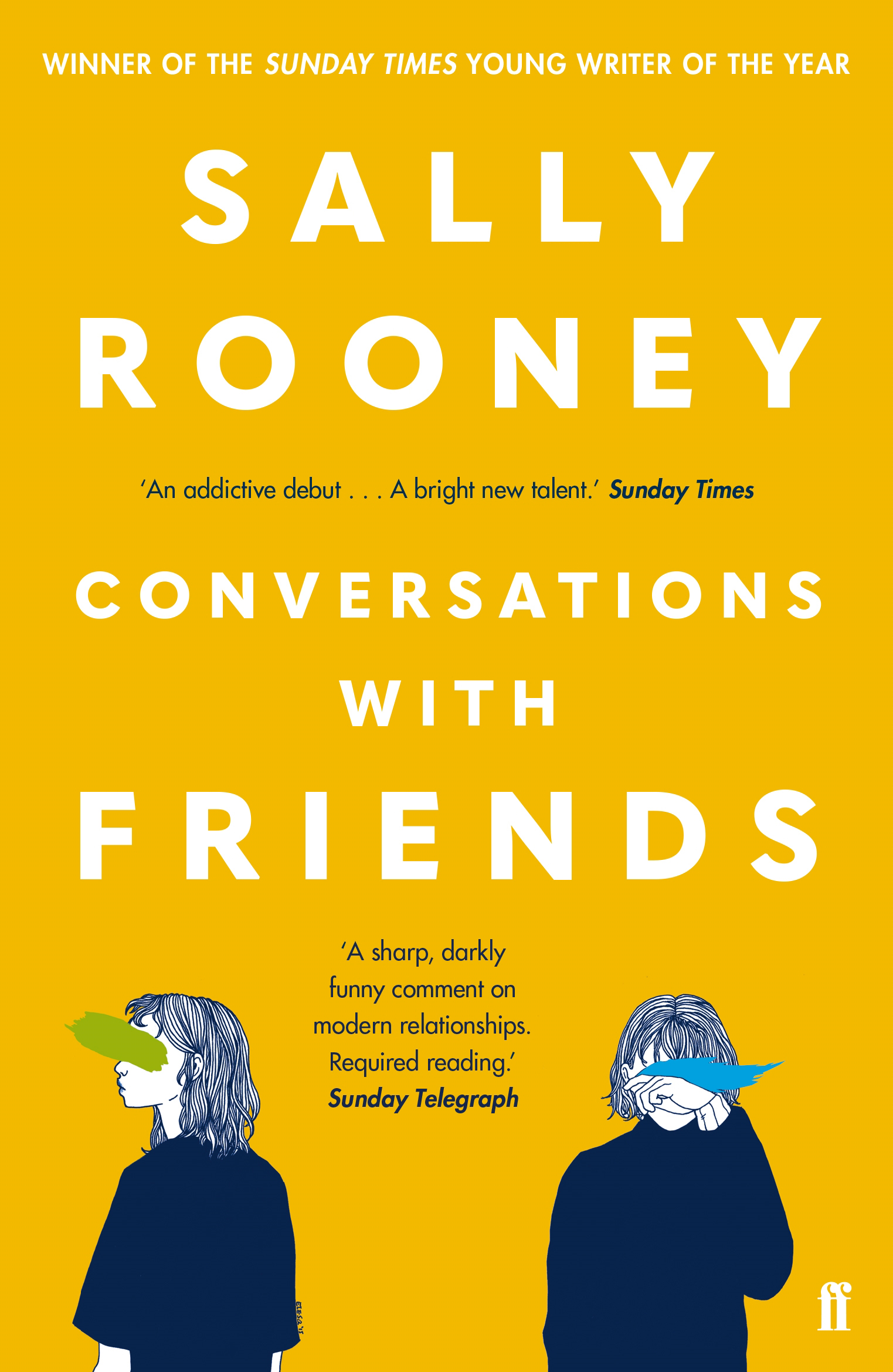 Conversations with Friends by Sally Rooney, ISBN: 9780571333134