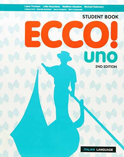 Ecco! uno Student Book with Reader+