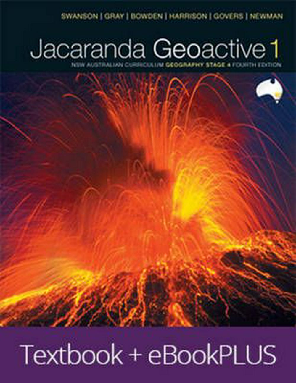 Geoactive 1 NSW Australian Curriculum Geography Stage 4 EBookPLUS and Print