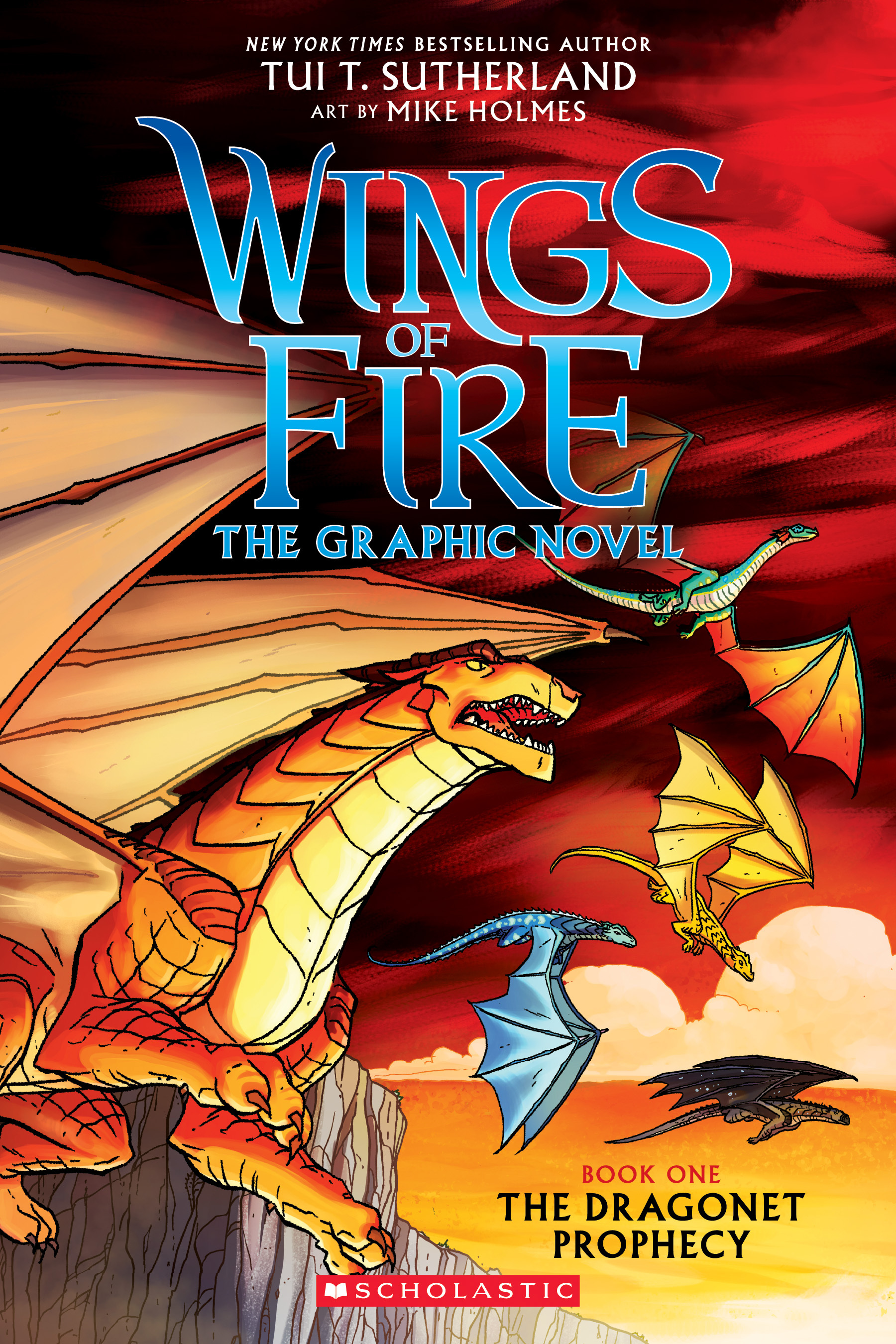 The Dragonet Prophecy (Wings of Fire Graphic Novel #1): A Graphix Book