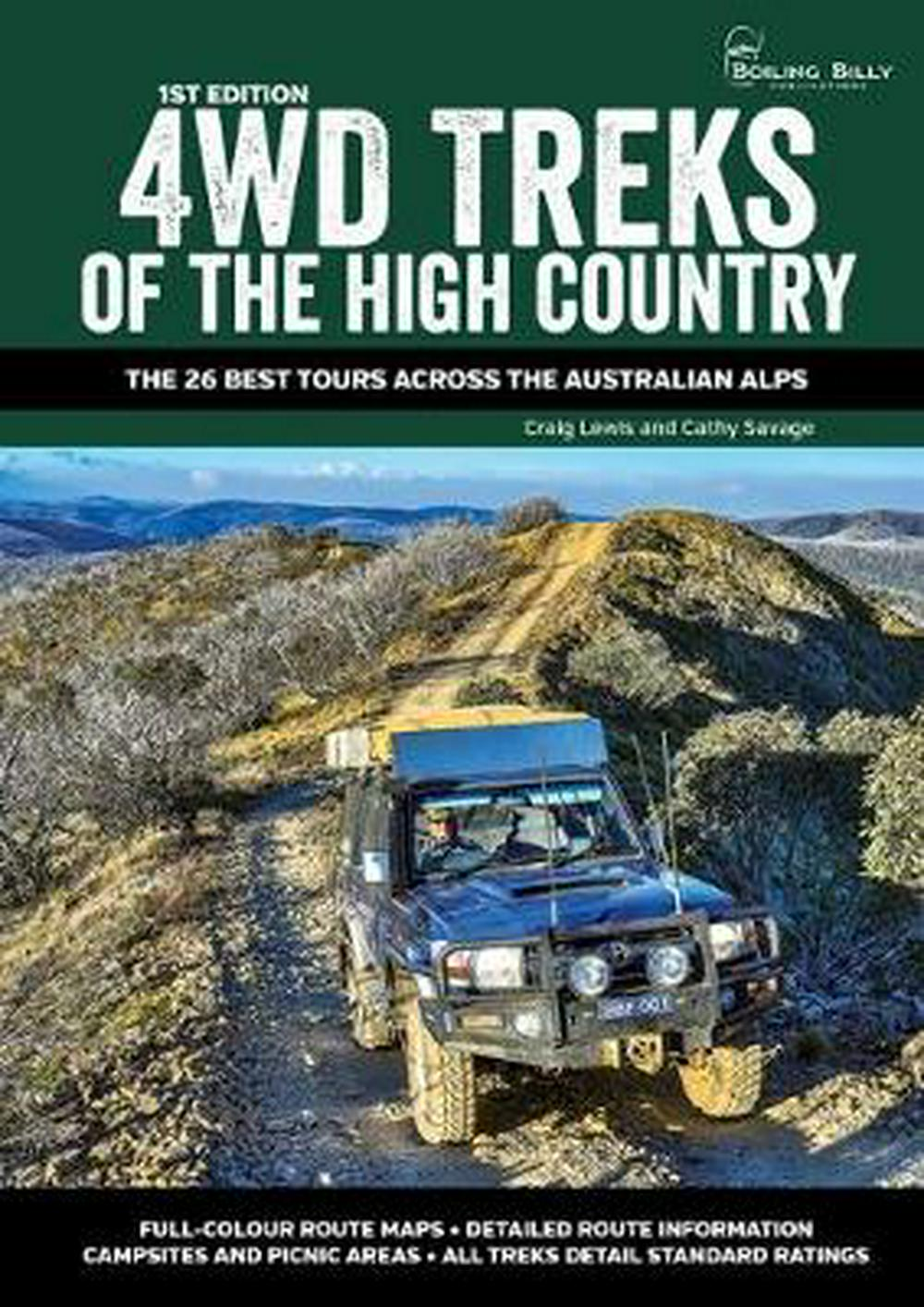4WD Treks of the High CountryThe 25 Best Tours across the Australian Alps
