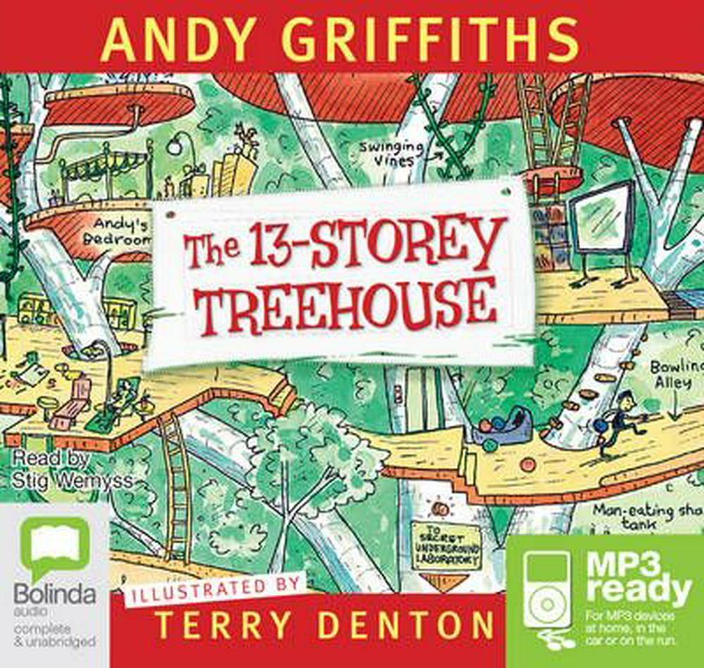 The 13 Storey Treehouse (MP3)
