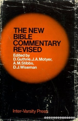 New Bible Commentary. Third Edition