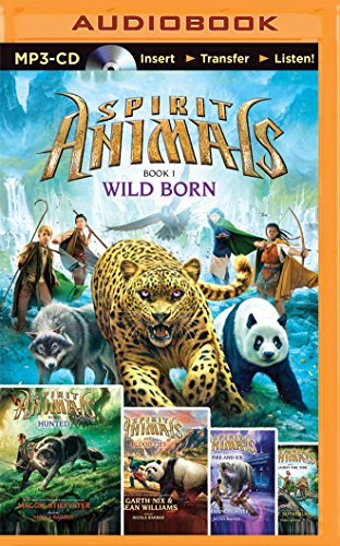 Spirit Animals: Wild Born, Hunted, Blood Ties, Fire and Ice, Against the Tide by Brandon Mull, ISBN: 9781501229046