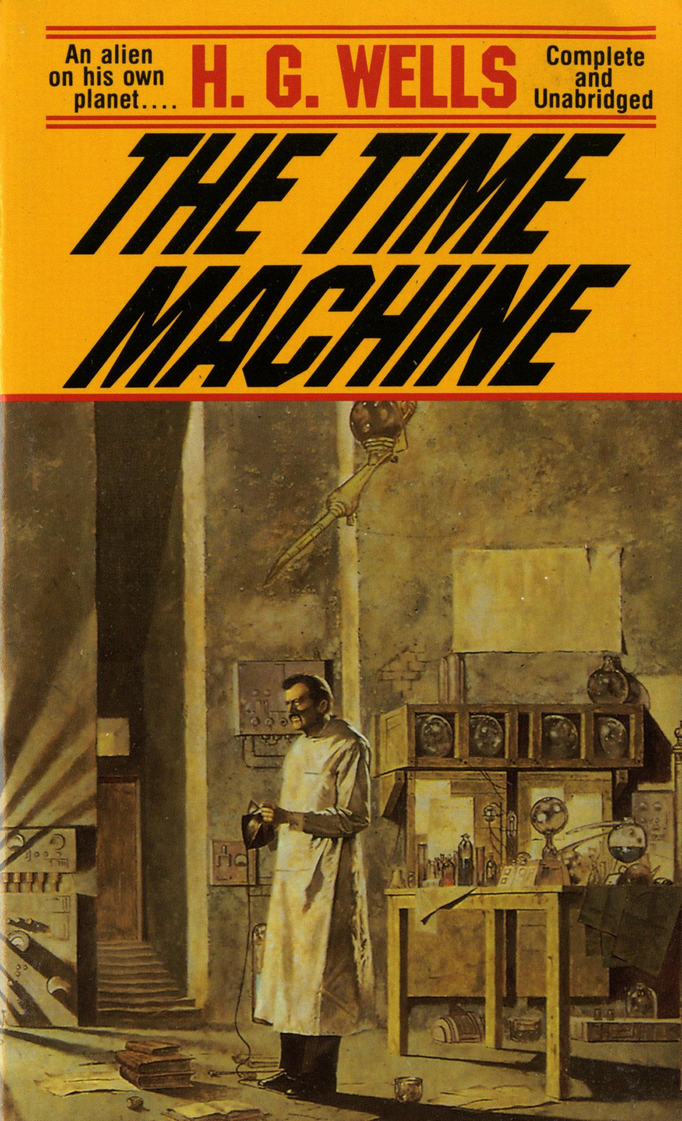 a book report on the time machine a novel by h g wells