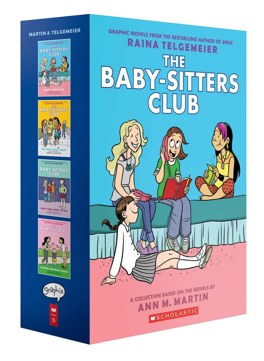 Baby-Sitters Club Graphic Novels (Books 1-4)