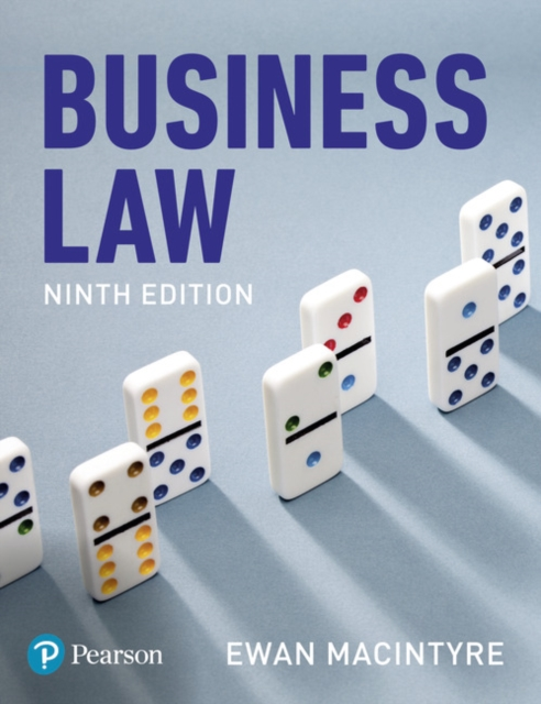 Business Law by Ewan MacIntyre, ISBN: 9781292219950