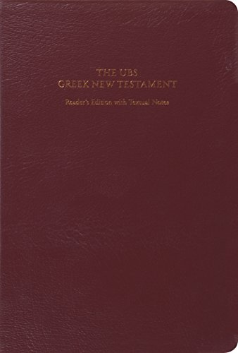 UBS Greek New Testament