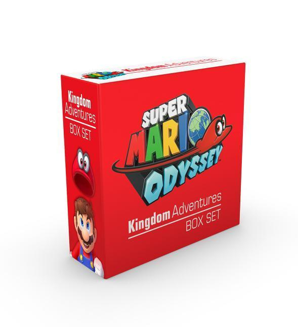 Super Mario Odyssey Kingdom Adventures Set
