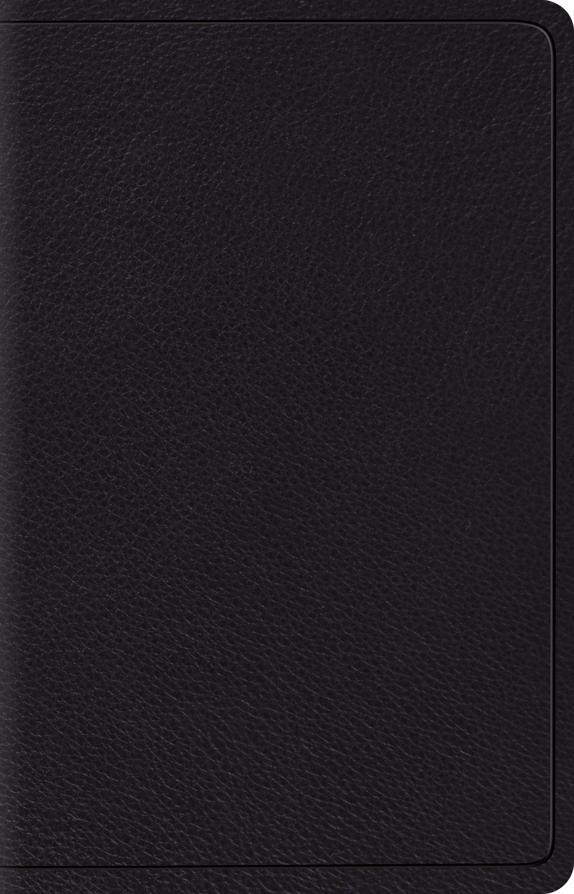 ESV Wide Margin Reference Bible (Black) (Esv Bibles)
