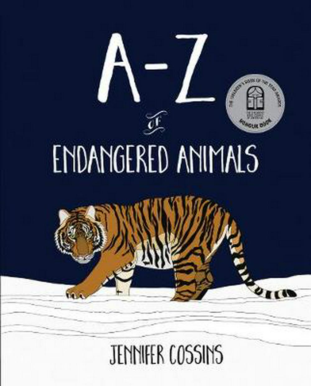 A-Z of Endangered Animals by Jennifer Cossins, ISBN: 9780734417954