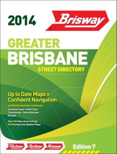 Brisway Ed 7 2014 by Melway Publishing Pty Ltd, ISBN: 9780909439743