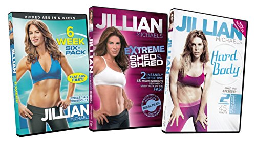 Jillian Michaels Packs (6 Week Six-Pack / Extreme Shed and Shred / Hard Body) by Unknown, ISBN: 0624262214472