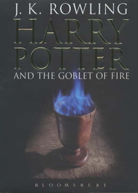 Harry Potter Goblet of Fire (Adult edition)