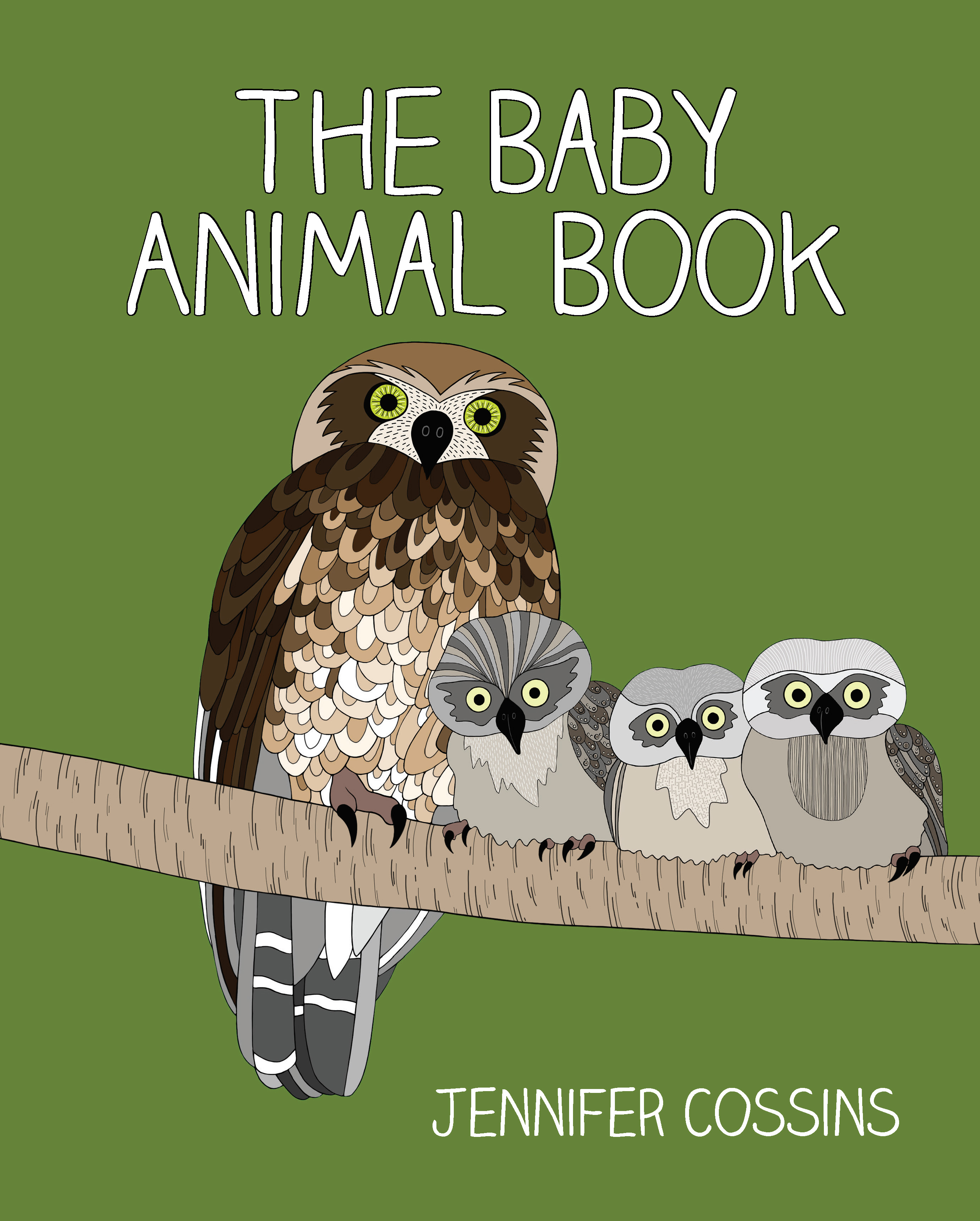 The Baby Animal Book by Jennifer Cossins, ISBN: 9780734418166