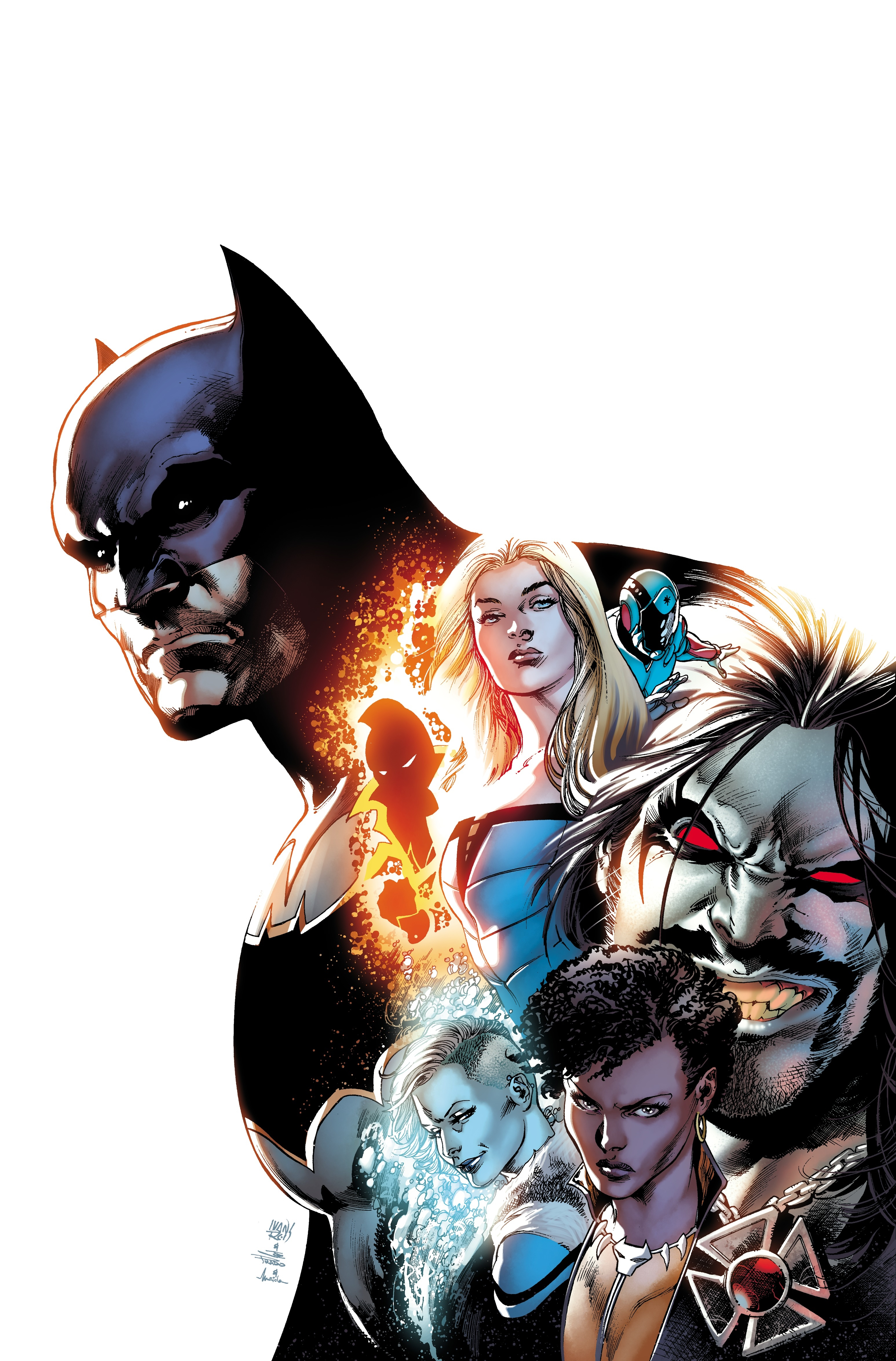 Justice League Of America The Rebirth Deluxe Edition Book 1 (Rebirth)Justice League of America - Rebirth
