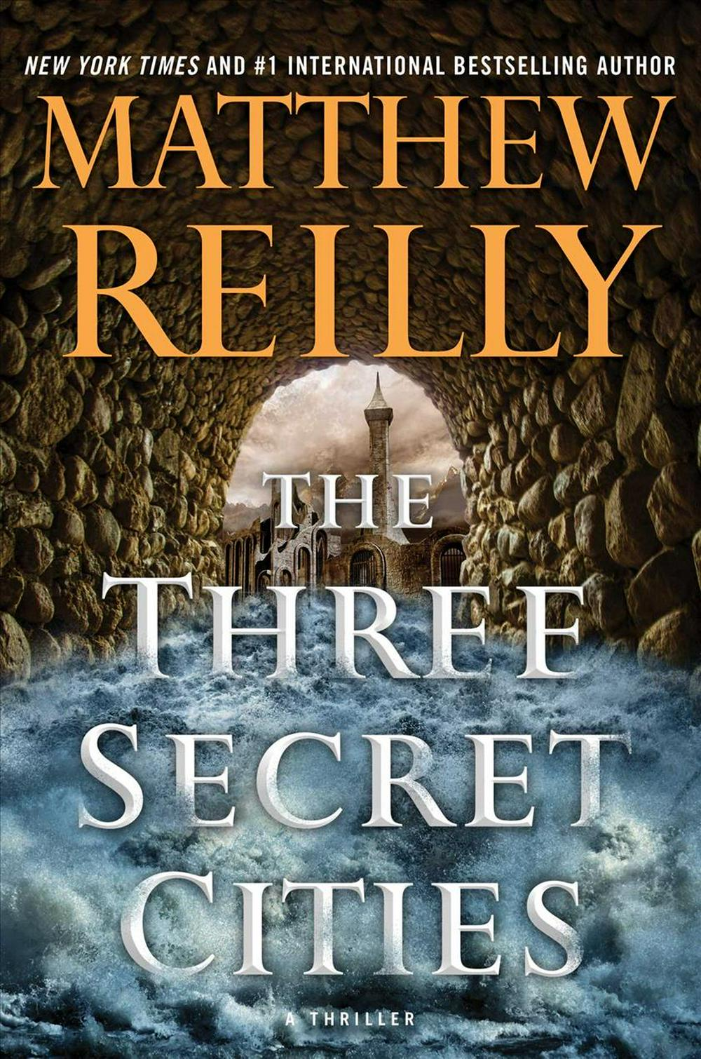 The Three Secret Cities (Jack West, Jr.)