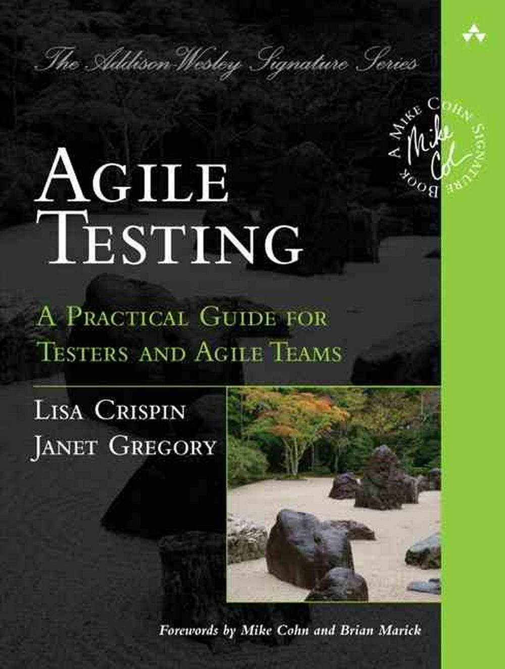 Cover Art for Agile Testing, ISBN: 9780321534460