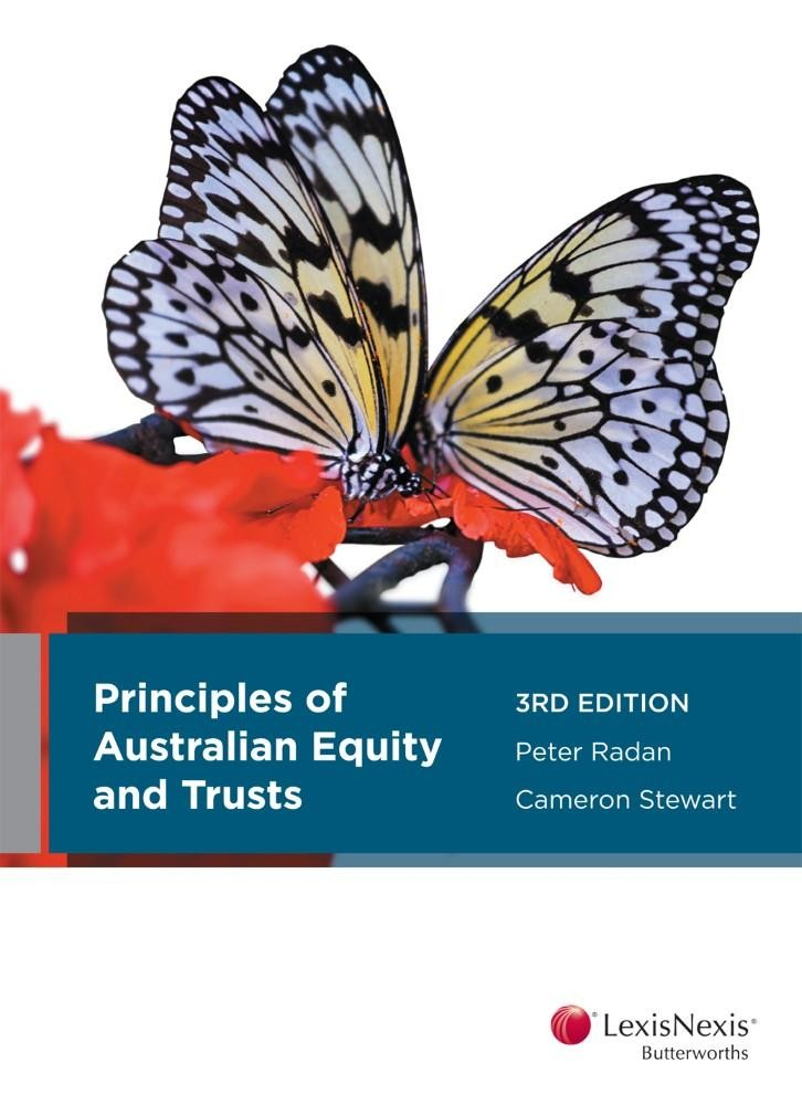 Principles of Australian Equity & Trusts 3rd Edition