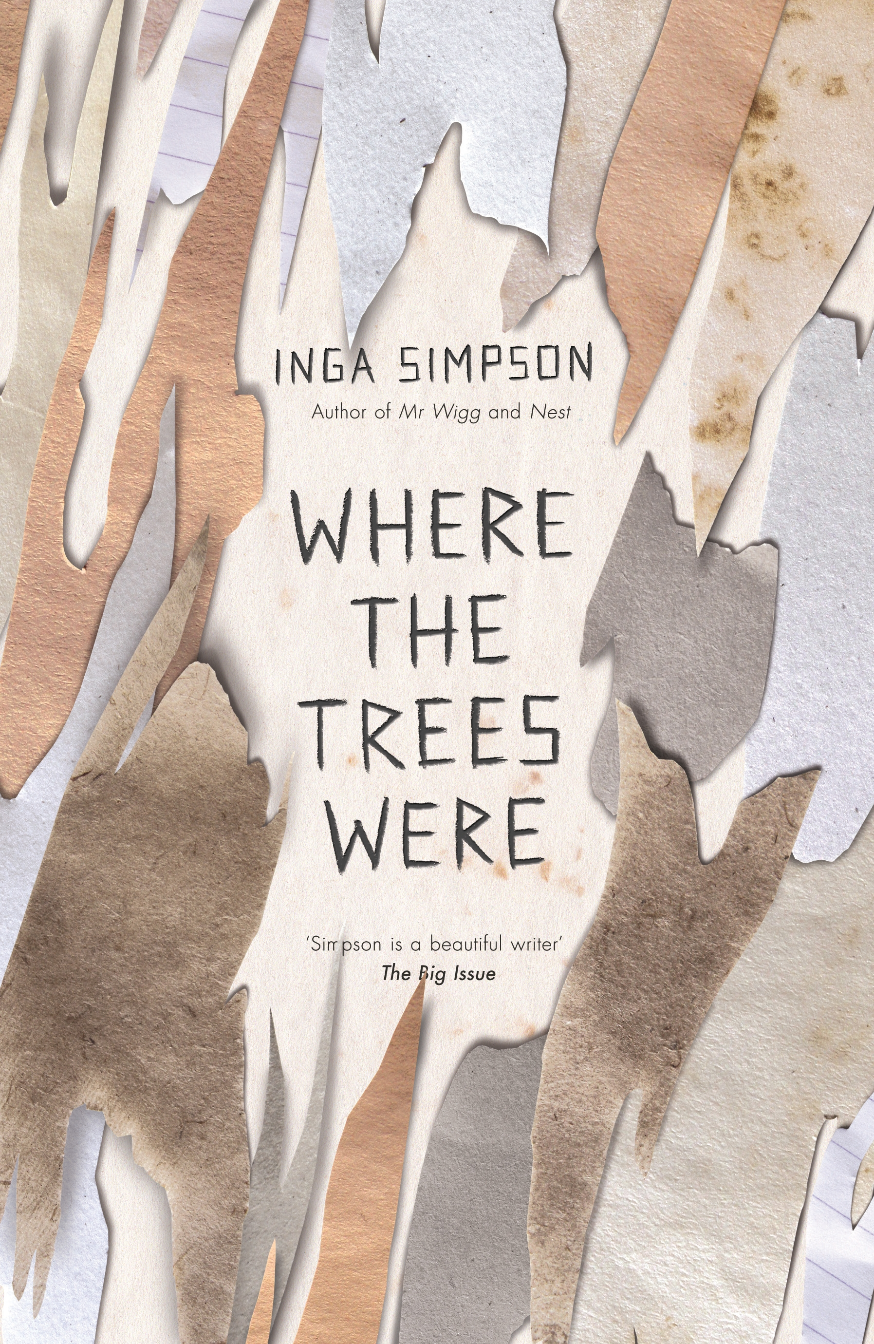 Where The Trees Were by Inga Simpson, ISBN: 9780733634536