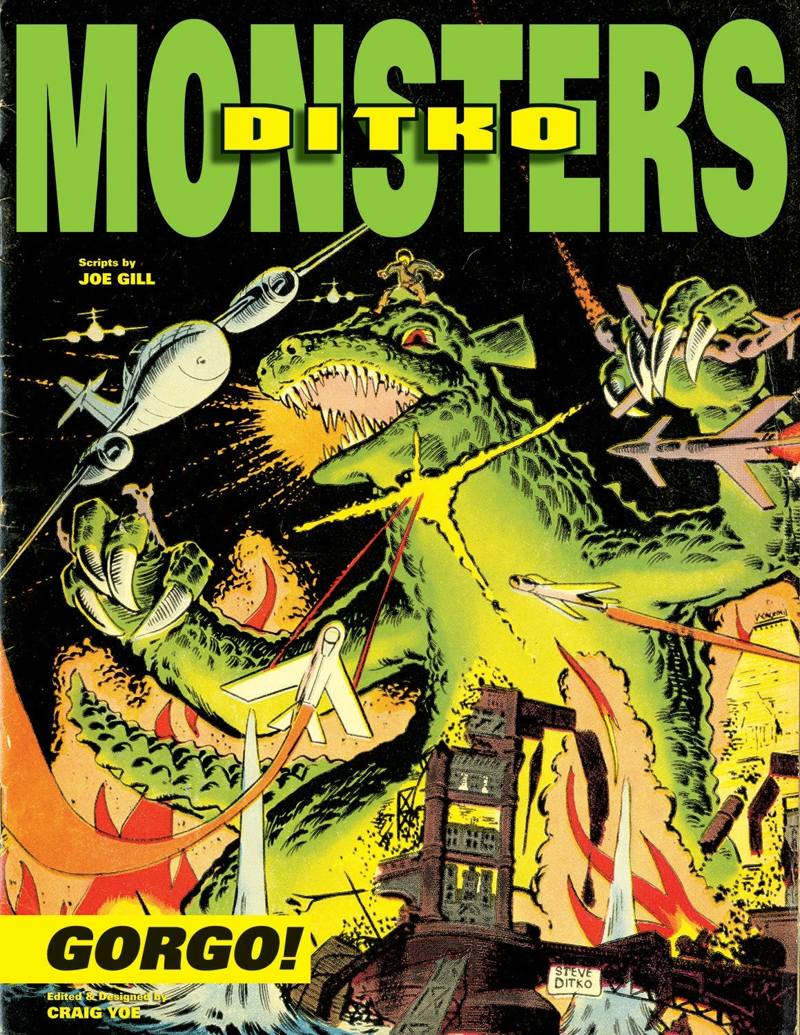 Steve Ditko's Monsters: Gorgo Volume 1