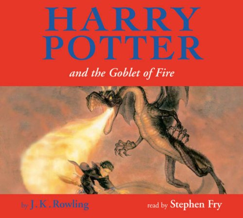 Harry Potter and the Goblet of Fire (unabridged) children's jacket edn 17XCD