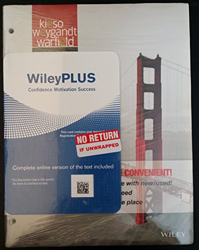 Cover Art for Intermediate Accounting 15E Binder Ready Version + WileyPlus Registration Card, ISBN: 9781118566640