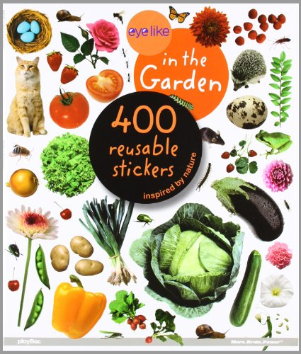 EyeLike Stickers: In the Garden by playBac Edu-Team, ISBN: 9781602140813